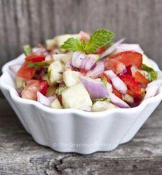Clean Eating Recipes | Clean Eating Shirazi Salad