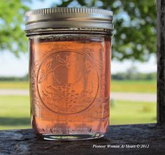 ~Pioneer Woman at Heart ~: Wild Rose Petal Jelly ~ Wild Red/White Clover Jelly