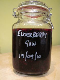 Elderberry Gin – James's Recipes