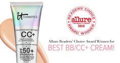 IT Girl favorite CC+ Cream SPF 50+ won the 2016 Allure Reader's Choice Award for Best BB/CC Cream! #entry