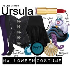 The Little Mermaid by wearwhatyouwatch on Polyvore featuring Chalona, Muk Luks, FACE Stockholm, Isaac Mizrahi, disney, wearwhatyouwatch and film