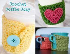 We want to keep those hot drinks nice and cozy with these featured crochet patterns for a coffee cozy, perfect for our Crochet-A-Day series. I've found 3 fabulous patterns for a coffee cozy, all a little different to fit your... Continue Reading →