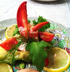Lobster Avocado with Russian Dressing