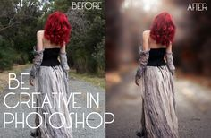 BE CREATIVE : NORMAL PHOTO TO AMAZING PHOTO ( PORTRAIT EDITION) IN PHOTOSHOP