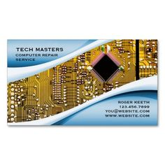 154 best computer repair business cards images on pinterest in 2018 computer repair business card fbccfo Image collections