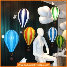 Customized Colorful Fiberglass Hot Balloon, View Hot Balloon, Soarpean Product Details from Xiamen Soarpean FRP Co., Ltd. on Alibaba.com