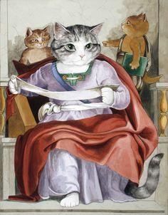 Joel, Sistine Chapel (Michelango) by Susan Herbert