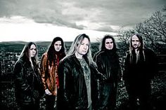 Stratovarius is a Finnish power metal band that formed in 1982 (previously known as Black Water from 1982–1984). Since their formation they have released 14 studio albums and one live album. Along with Helloween, Blind Guardian, Gamma Ray, Angra and Rhapsody of Fire, Stratovarius are considered one of the leading groups of the power metal and symphonic metal genre.