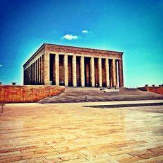 Ataturk's (founder of  modern Turkiye/Turkey/Turkish Republic) Mausoleum... #gf_daily_stonesaturday_002 - @cortiyum_gf | Webstagram