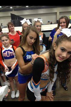 Cheer Gabi Butler Smoed competitive cheerleader cheerleading #KyFun
