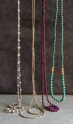Wear one of these sweet necklaces solo for a delicate effect, or pair with some of our other pieces for a trendy layered look!