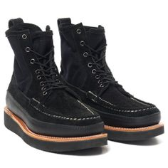 Russell Moccasin Co. | Elk Leather PH II Boot Black