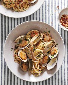 Spicy Clams with Spaghetti Recipe
