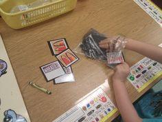 Environmental print match up/memory game Education And Literacy, Teaching Schools, Kindergarten Literacy, Preschool Learning, Teaching Ideas, Early Literacy, Preschool Ideas, Teacher Resources, Life Skills Activities