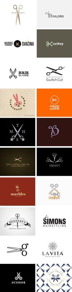 Logo Design: Scissors - 堆糖 发现生活_收集美好_分享图片