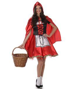 Rotkäppchen Kostüm Erwachsene Karneval Märchenbuch Märchen Verrücktes Kleid