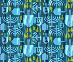 Spoonflower Fabric by Alicia Vance