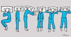 Votre position de sommeil révèle votre personnalité, et indique beaucoup de choses sur vous !