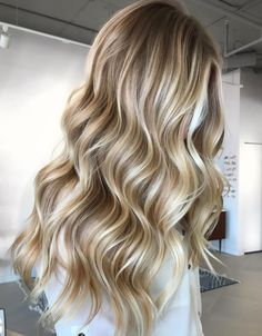 Buttery blonde shade, traditional baby blonde, or light caramel tone – make your pick from one of these 50 amazing blonde hair colors to inspire change! Copper Blonde Hair Color, Pale Blonde Hair, Blonde Hair Looks, Blonde Hair With Highlights, Going Blonde, Butter Blonde Hair, Blonde Hair Lowlights, Highlighted Blonde Hair, Best Blonde Hair