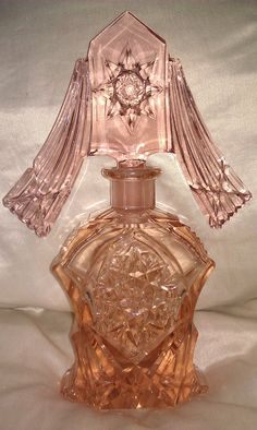 Art Deco Stunning Perfume Bottle