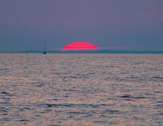 Magnificent Sunset Oneida Lake