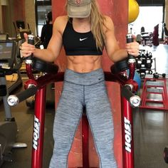 If I had to choose a favorite core exercise, it would definitely be leg raises! Why?! They're simple, effective & easy to vary & keep…