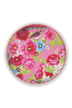PiP Fruity Flowers cushion round pink