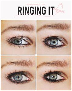 Different eye lining methods