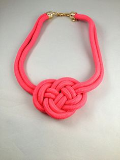Love Knot Colar Necklace Paracord Necklace  Celtic Knot Necklace   Item 2212