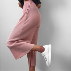 Pleated Pants 'The Base Pants' Available in pink, blue, grey and black Cr. IG@lissyroddyy $45.00 USD Stolenstores.com