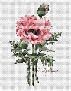 Cross Stitch Art, Cross Stitch Flowers, Cross Stitch Designs, Cross Stitching, Cross Stitch Patterns, Embroidery Art, Cross Stitch Embroidery, Back Stitch, Crochet Yarn