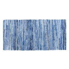Matta av denim Jean, 70x140 cm, Denim - Heminredning - Hemtextil - Hemtex