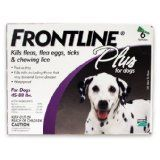 Merial Frontline Plus Flea and Tick Control for  45 to 88-Pound Dogs, 6 Applicators (Misc.)By Merial