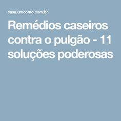 Remédios caseiros contra o pulgão - 11 soluções poderosas