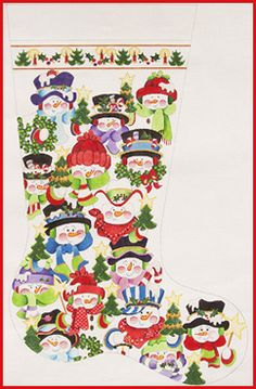 Welcome to Strictly Christmas Needlepoint Designs - Full-sized ...