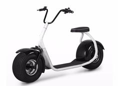 show of wide tire electric scooter