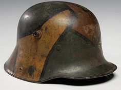 ww1 german helmet camouflage - Google Search