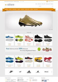opencart ayakkabı teması http://www.opencartsablon.com/opencart-temalari/opencart-spor-ayakkabi-temasi.html