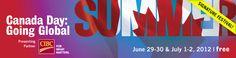 Canada Day, Gta, Summer Fun, Ontario, Toronto, Summertime, Centre, June, Events