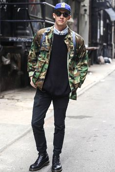 Fall Trends for Men - Camo | Under Cover | mens camouflage jacket