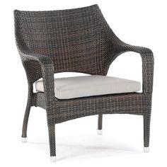 Outdoor Domus Ventures Sarzana Stackable Lounge Chair - 650407
