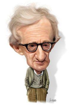 Woody Allen Caricature