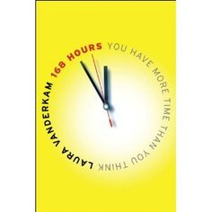 Such a good book for those who struggle to find enough time in the day.  I was super challenged by the author's approach to time management.  Sounds sort of dull, but it is really anything but that.