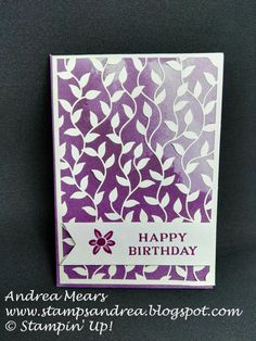 Delightfully Detailed, Stampin' Up!