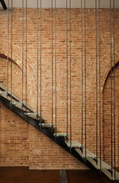 David Howell Design: Suspended Stair Case