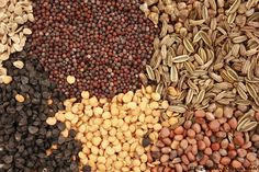 Variety of organic seeds