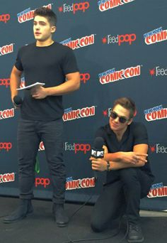 Teen Wolf babes at New York Comic-Con 2015  Teen Wolf Season 5B premieres January 5th 2016 — 	NYCC Comic-Con, October 9th 2015