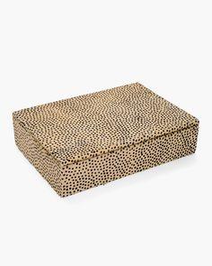 Leopard Haircalf Jewel Box