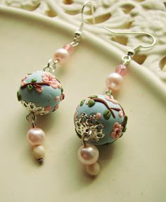 Hey, I found this really awesome Etsy listing at https://www.etsy.com/pt/listing/190100865/cherry-blossom-handmade-polymer-clay