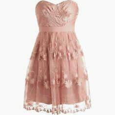 pink little dress